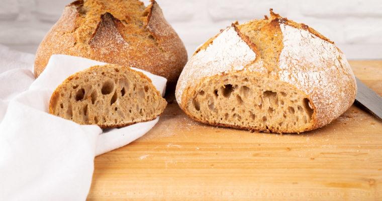 5 Ingredient Artisan Bread